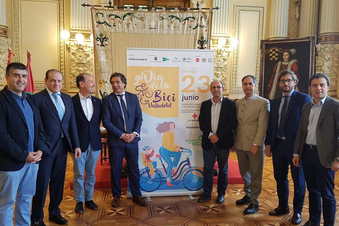 Clínica Sur se suma al 'II Día de la Bici' en Valladolid