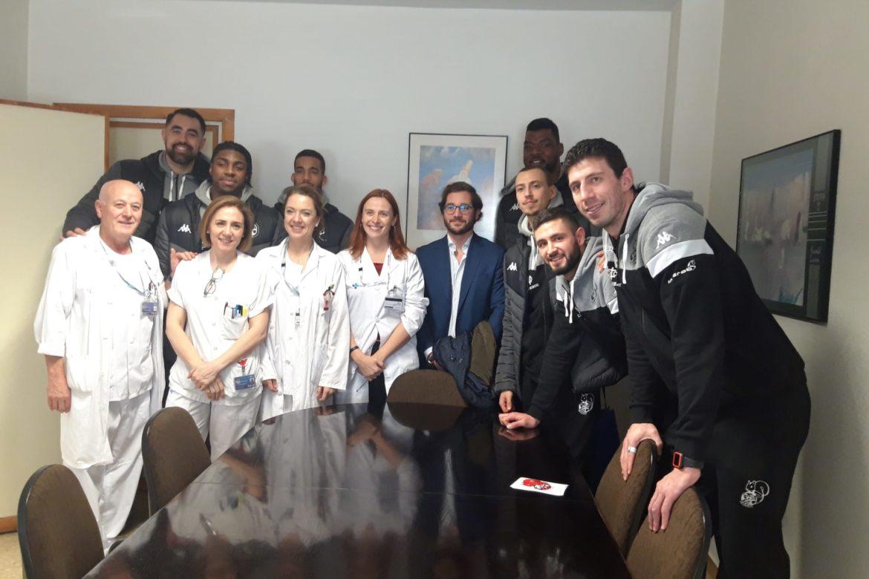 Clinica Sur y CBC Valladolid visitas solidarias
