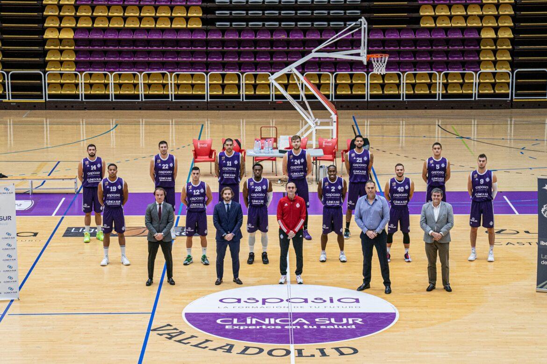 Clinica Sur patrocinador Real Valladolid Baloncesto