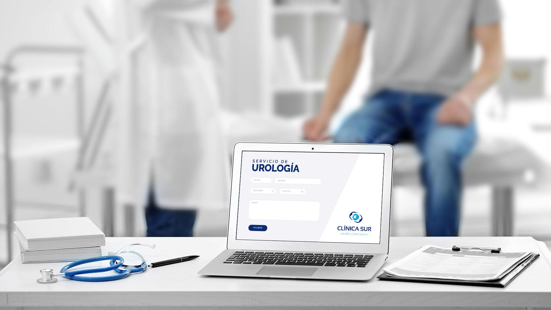Servicio de urología slide